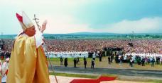 Jan Paweł II w Masłowie