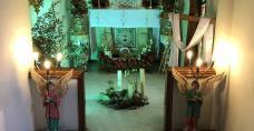 Kaplica w Nuncjaturze Apostolskiej w New Delhi, gdzie pracuje nasz rodak - ks. prałat Henryk Jagodziński