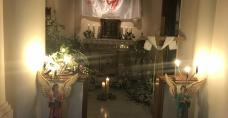 Kaplica Nuncjatury Apostolskiej w New Delhi, gdzie pracuje ks. prałat Henryk Jagodziński - nasz rodak
